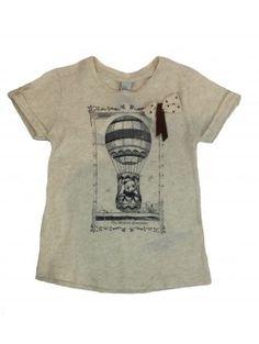 Camiseta ZARA KIDS con dibujo 3-4 AÑOS