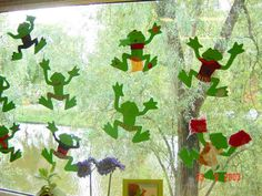 Kikkers knutselen Frog Bulletin Boards, Frog Activities, Lifecycle Of A Frog, Frog Crafts, Pond Life, Spring, Terrarium, Painting, Science