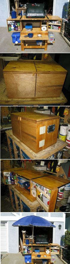 Exciting ** Build Your Own Camp Kitchen Chuck Box...