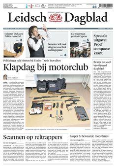 Leidsch Dagblad wordt tabloid op 13 april 2013 (afbeelding is dummy) Shopping