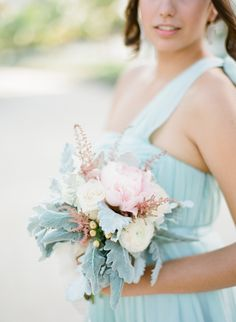 a pastel bouquet for a seaside wedding  Photography By / ktmerry.com, Wedding Plannng   Floral Design By / beautyinthemaking.com
