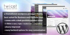 Showcase of 30 Awesome Dark WordPress Themes