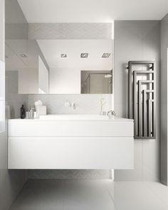 FOORMA INTERIOR DESIGN Bathroom, white, grey
