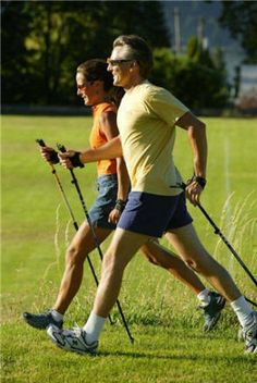 Nordic walking was invented in Finland