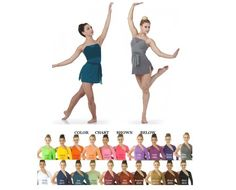 Breakable Lyrical Ballet Contemporary Ice Skating Dance Costume Child & Adult #Cicci
