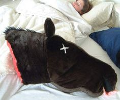 Godfather Horse Head Pillow (why?)
