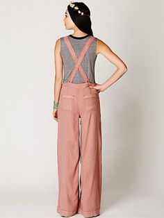 Cute take on overalls..