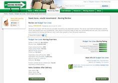 #budget van lines #reviews #mymovingreviews
