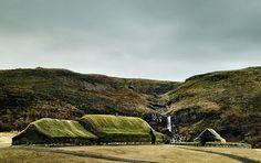 Viking Long House Stöng at Þjóðveldisbærinn, Iceland by Berthold Steinhilber