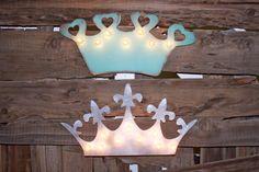 BIG Royal Crown Wood Vintage Inspired Marquee by JunkArtGypsyz, $49.90