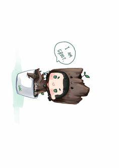 I am groot Loki Art, Thor X Loki, Loki Avengers, Avengers Comics, Loki Marvel, Marvel Art, Marvel Characters, Marvel Movies, Baby Loki
