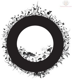 Enso/circle representing earth