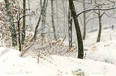 Silently Falling Snow - Peter Brook