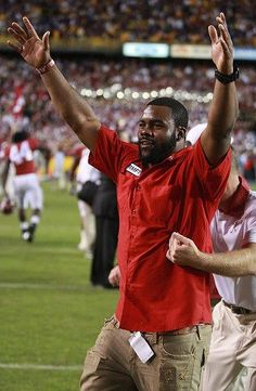 Mark Ingram on the sideline. The time came for him to move on. He left Tuscaloosa, but Alabama has never left his heart.