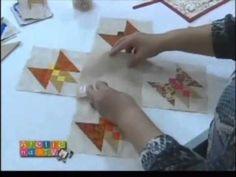 ▶ Patchwork Ana Cosentino: Painel de Borboletas - YouTube