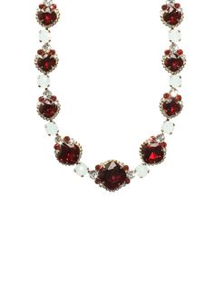 Crystal Strand Necklace in Crimson Pride by Sorrelli - $160.00 (http://www.sorrelli.com/products/NCG3ASCP)
