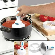 Crookedbrains: 20 Creative Cooking Tools and Kitchen Gadgets. Cool New Gadgets, Kitchen Tools And Gadgets, Cooking Gadgets, Cooking Tools, Kitchen Hacks, Tech Gadgets, Awesome Gadgets, Electronics Gadgets, Cooking Recipes
