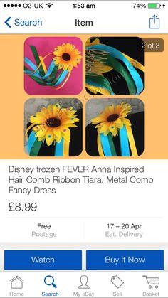 Frozen fever Anna clip