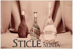 Cutii Nunta Personalizate   Marturii Nunta Online Indigo, Plastic, Bottle, Home Decor, Decoration Home, Plastic Art, Room Decor, Flask, Indigo Dye