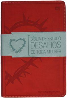 Biblia De Estudo Desafios De Toda Mulher Capa Vermelha