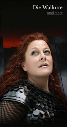 @StephanieBlyth as Brunhilde in Wagner's Ring Cycle produced at the Met.
