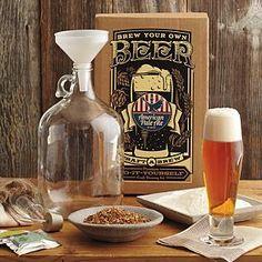 craft beer home brew kit from RedEnvelope.com