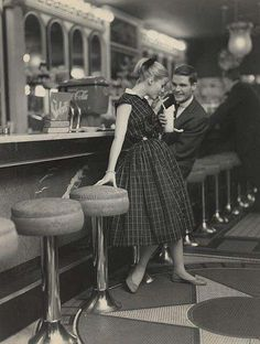 Couple on a Date in the 1950s is listed (or ranked) 8 on the list 100 Incredible Vintage Photos
