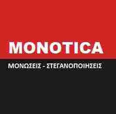 monotica μονωσεις στεγανοποιησεις ταρατσων τηλ.210 2381855 Logos, Facebook, Logo