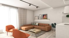 ARCHILAB architekti - interiér vo vilovom dome Záhradné Vily, Bratislava Bratislava, Architekti, Divider, Couch, Living Room, Furniture, Ideas, Home Decor, Settee