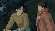 Whisper of The Heart: Seiji Amasawa & Shizuku Tsukishima Hayao Miyazaki, Studio Ghibli Art, Studio Ghibli Movies, Totoro, Personajes Studio Ghibli, Tamako Love Story, Another Anime, Howls Moving Castle, Animation