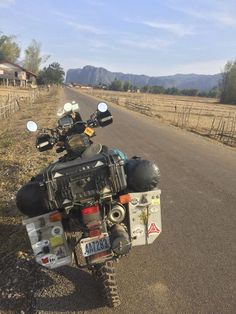 Sanity Restored: Laos - http://www.smboilerworks.com/sanity-restored-laos/ - Laos was made for motorcycle adventure travel: emerald mountains, wild rivers, minimal traffic, roads to suit any rider's taste, and friendly and welcoming people.   #overland #overlanding #adventuretravel #travel #Asia, #Laos, #Motorcycle, #Thailand
