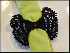 crochet napkin rings