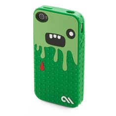 So Cute It's Scary iPhone Case ($28) ❤ liked on Polyvore featuring bags, wallets, phone cases, phones, accessories, iphone, iphone cases, green bags, green wallet and fake bags
