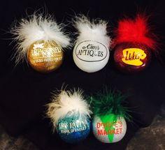 0f72e82f114 Gilmore Girls themed Christmas Ornament Set