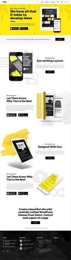 Aton is a creative 12in1 responsive #WordPress theme for modern design #app #startup #agencies and freelancers website download now➩ https://themeforest.net/item/aton-a-creative-theme-for-modern-design-agencies-and-freelancers/19364331?ref=Datasata