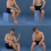 Capsces Model Poses for Genesis 8 Male and Michael 8 in Vendor, Capsces Digital Ink, 3D Models by Daz 3D Sitting Pose Reference, Male Pose Reference, Drawing Reference Poses, Body Reference, Figure Reference, Anatomy Reference, Art Reference, Gesture Drawing Poses, Guy Drawing