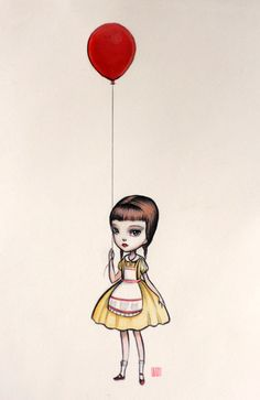 Mab Graves - The Little Red Balloon Girl