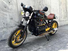 K1 CAFE RACER, can you keep the K1 ADN in a racer conversion?- BMW K75 K100 K1 K1100