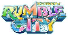 ランブル・シティ(Rumble City) Bg Design, Game Logo Design, Symbol Design, Typography Logo, Lettering, Tv Show Logos, Game Font, Event Logo, Entertainment Logo