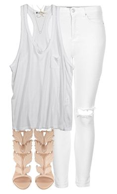"""""""A woman's heart should be so hidden in God that a man has to seek Him just to find her."""" by quiche ❤ liked on Polyvore featuring Topshop, T By Alexander Wang, Giuseppe Zanotti, Sydney Evan and Monique Péan"""