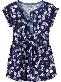 Floral-Print Dresses for Baby