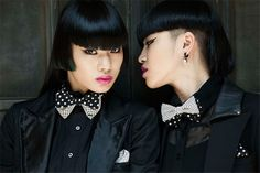 Aya Sato and Bambi Ogano <3 my new obsession