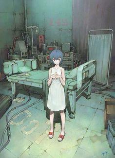 [ Neon Genesis Evangelion: Rei Ayanami - 綾波 レイ ] Illustration by Yoshiyuki Sadamoto (貞本 義行) Neon Genesis Evangelion, Rei, Character Design, Illustration, Rei Ayanami, Drawings, Evangelion Art, Evangelion, Anime