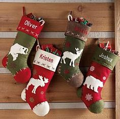 personalized rustic hunting stockings christmas stockings we have these - Country Christmas Stockings