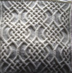 Ravelry: Celtic Motif (knot #79) pattern by Devorgilla's Knitting