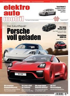 Der Zukunftspakt: #Porsche voll geladen 🔋🚗 Jetzt in @eam_magazin:  #emobilität #eMobility #Auto #elektroauto