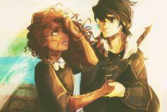 Nico and hazel!!! This is one of my favorite viria drawings