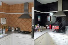 before after kitchen!