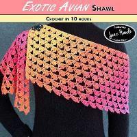 EXOTIC AVIAN Shawl
