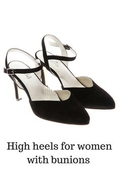 High heels for women who suffer from bunions 84c1c962c